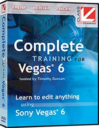 Class On Demand Vegas 6.0 Complete Training