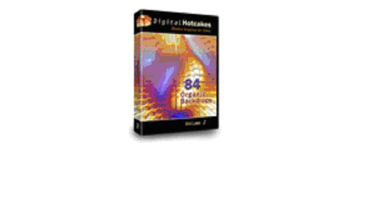 Digital Hotcakes Organic Backdrops Volume2DVD