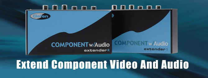 Component w/Audio Extender (Pre-Order) - EXT-COMPA