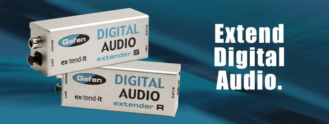 Digital Audio extender - EXT-DIGAUD-141