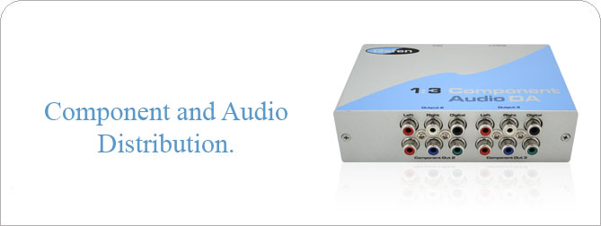 1:3 Component Audio DA - EXT-COMPAUD-143