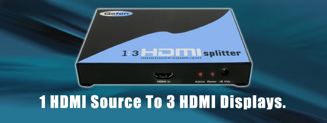 1:3 HDMI Splitter - EXT-HDMI-143