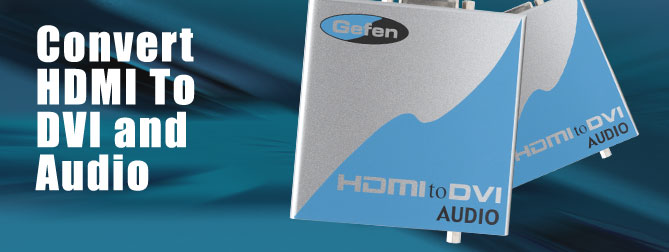 HDMI to DVI Audio Adapter  - EXT-HDMI-2-DVIAUD