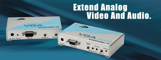 VGA Audio extender (Pre-order) - EXT-VGA-AUDIO-141