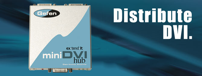 Mini DVI Hub - EXT-MiniDVI-142