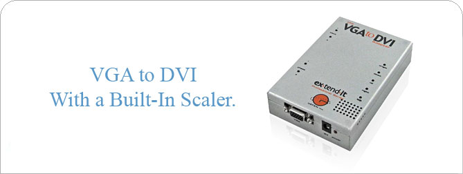 VGA to DVI Adapter - EXT-VGA-2-DVI2