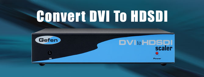 DVI to HD-SDI Single Link Scaler Box - EXT-DVI-2-H