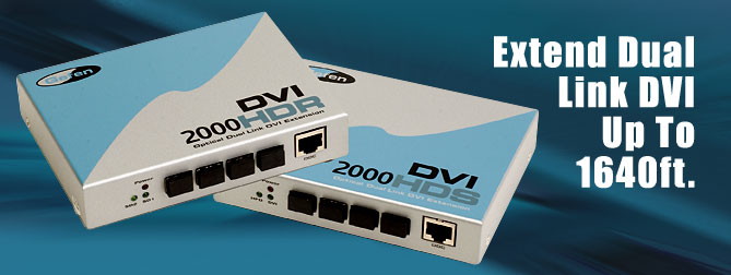 DVI�2000 HD Kits#4 300 ft. Extension - EXT-DVI-200