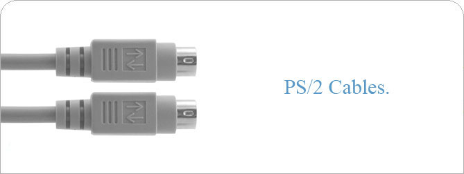 6 ft PS/2 Cable (M-M)