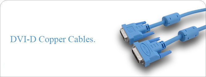 DVI-D Copper Cable 1 ft (M-M) - CAB-DVIC-01MM