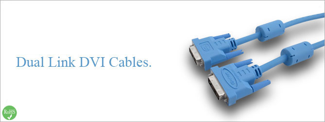 Dual Link DVI Cable 6 ft (M-F) - CAB-DVIC-DL-06MF