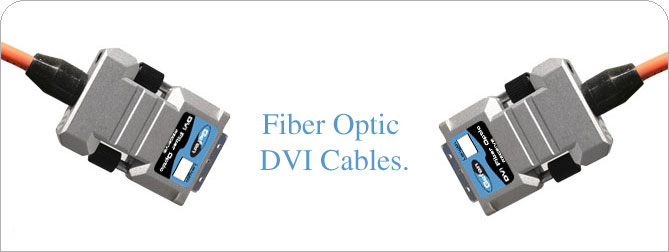 DVIFO DVI-D Fiber Optic Cable 100 ft (M-M)