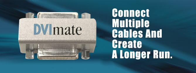 DVImate (Female to Female DVI coupler)