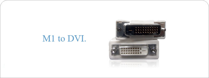 M1 to DVI Adapter