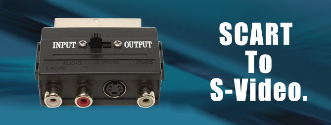 SCART to S-Video Adapter