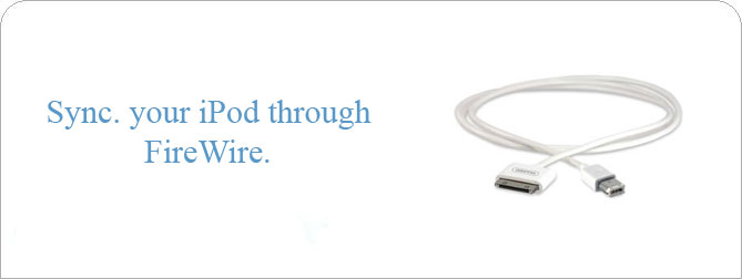 Dock to Firewire 400 Cable