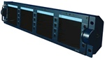 Datavideo TLM-404 4 Screen LCD Monitor Unit TLM404