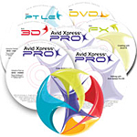 Avid Xpress Studio Training 7DVD set 0010-07493-01
