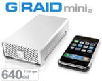 G-Tech G-RAID mini2 640GB 7200 RPM GRM2-64072K