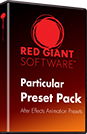 Red Giant Trapcode Particular Preset Pack Vol 1