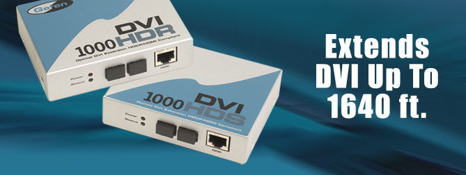 DVI�1000 HD Kits#1 60 ft. Extension - EXT-DVI-1000